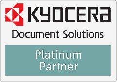 Logo kyocera platinum partner JTP Informatica