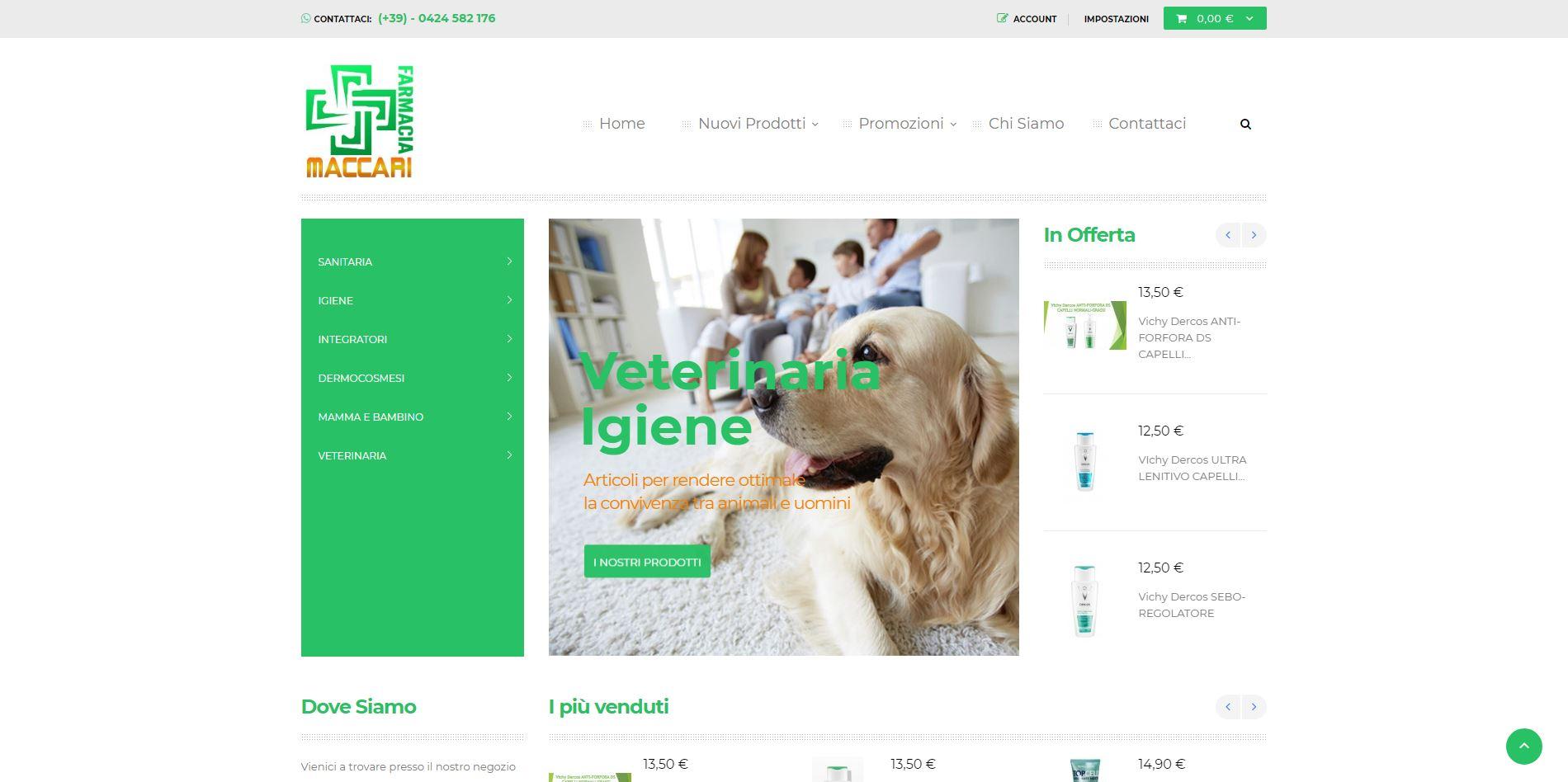 Home-page-Farmacia-Maccari-sviluppo-siti-web-Jtp-Informatica
