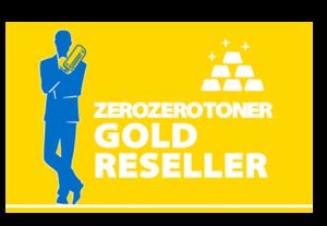 Targa rivenditore autorizzato Zerozerotoner Gold