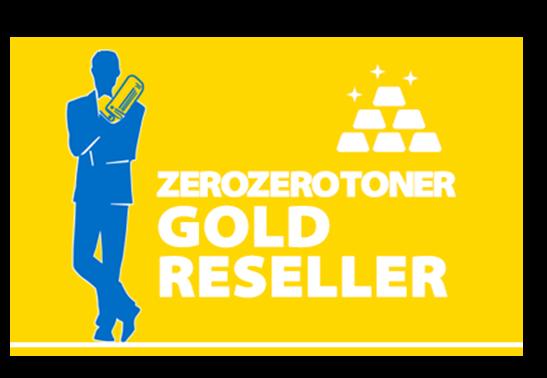 Targa rivenditore autorizzato Zerozerotoner Gold JTP Venezia