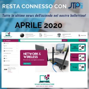 Copertina bollettino aprile 2020 JTP