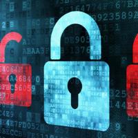 Lucchetto sistema di sicurezza informatico anti malware