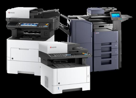 tre stampanti multifunzione kyocera