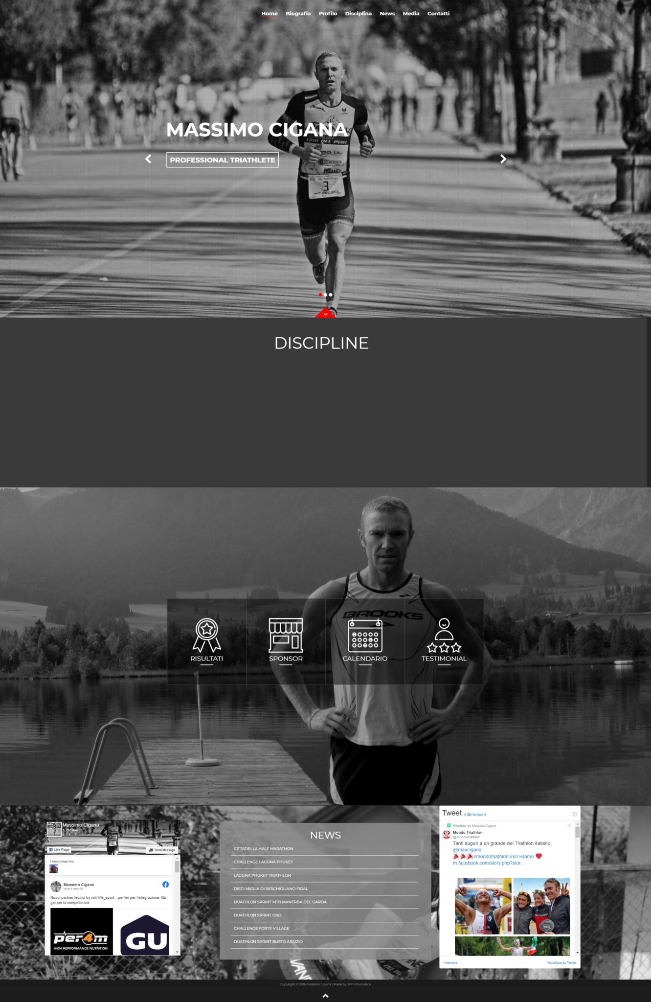 massimo cigana homepage